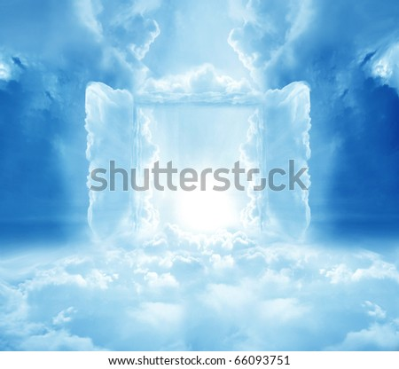 Doors to Paradise - stock photo