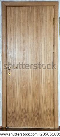 Doors Various Types Of Interior Doors Brown Color Oak Oak Veneer