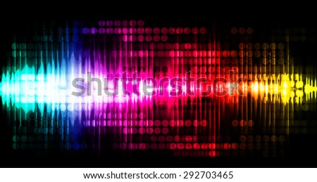 Dot background. Illustration. dark blue pink red yellow lights motion blur Abstract Background. wave. infographics.