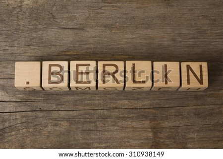 dot Berlin - a community-based sponsored top-level domain for Berliners - stock photo