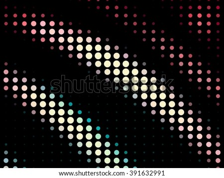 Dotted abstract background pattern