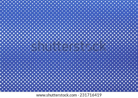 Dotted abstract blue background/Blue background with white dots/Background with optical illusion - stock photo