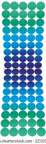 Dotted background - stock photo