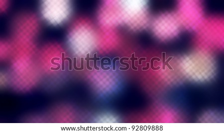 Dotted background of the colorful dots on the blured light - stock photo