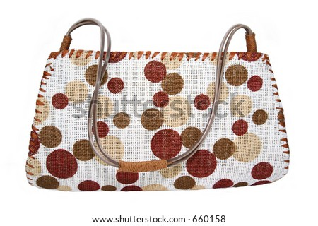 dotted bags