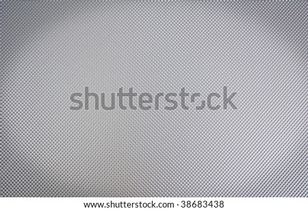 Dotted metal background - stock photo