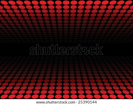 Dotted pattern, red - stock photo