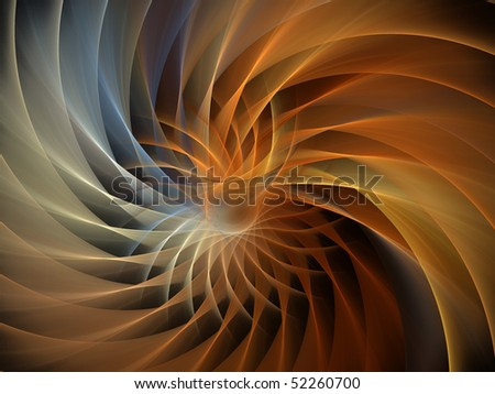 Double Spiral - stock photo