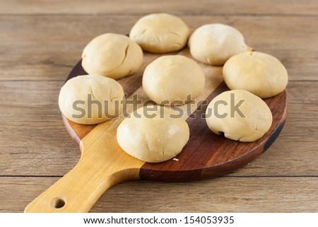 Dough balls - stock photo