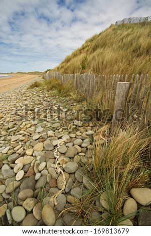 Doughmore strand in Clare in Ireland Europe - stock photo