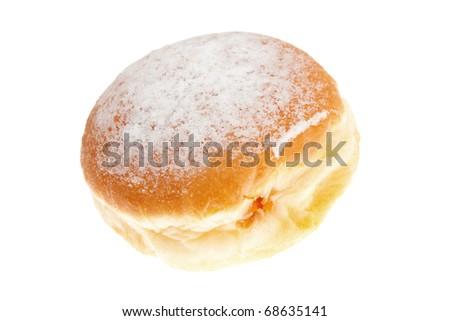 Doughnut isolated on  white - stock photo