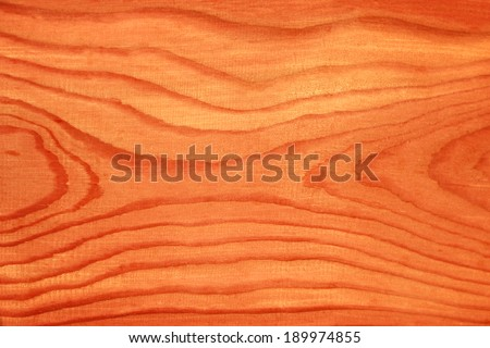 Douglas fir massive timber - naturally red colored (no paint)