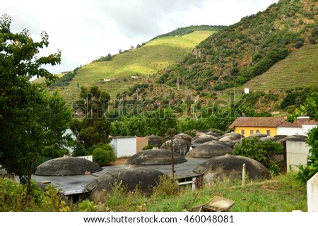 Douro Valley, Pinhao, Portugal - stock photo