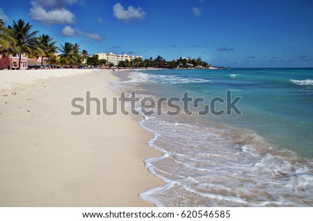 Dover Beach, Barbados, Caribbean Sea