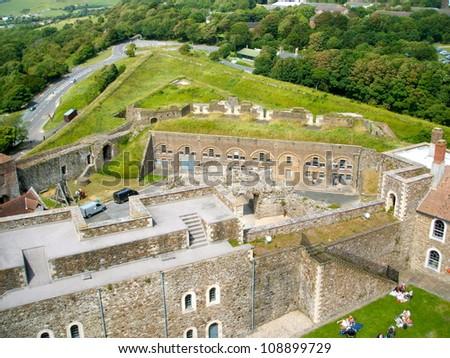 Dover Castle - stock photo
