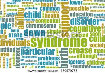 Down Syndrome Condition as a Concept Background