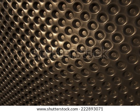 downlight foil to protect the walls from moisture - stock photo