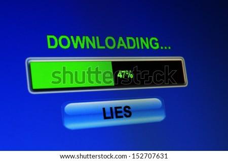 Download lies - stock photo