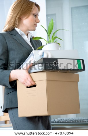 Downsized - stock photo