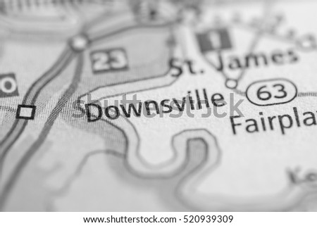 Downsville. Maryland. USA