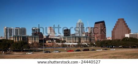 Downtown Austin - stock photo