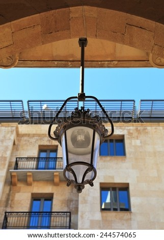 Downtown Beirut Architectural Details - stock photo
