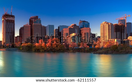 Downtown Calgary view