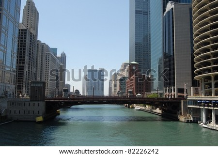 Downtown Chicago, Illinois - stock photo