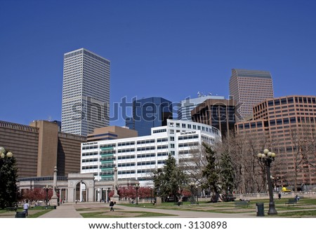 Downtown Denver, Colorado - stock photo