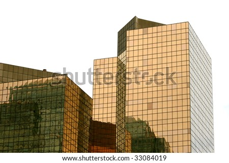 downtown, edmonton, canada - stock photo