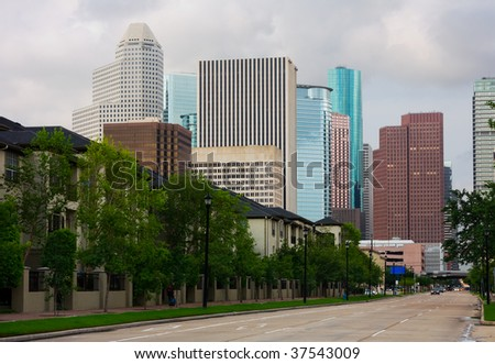 Downtown Houston Texas