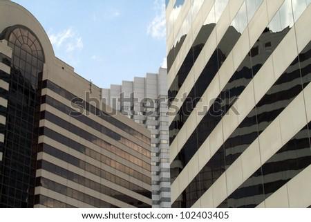Downtown Jacksonville Florida - stock photo