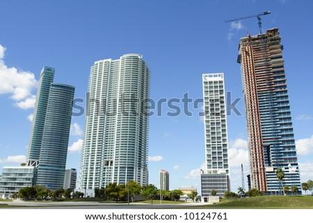 Downtown Miami - stock photo