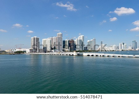 downtown Miami beach