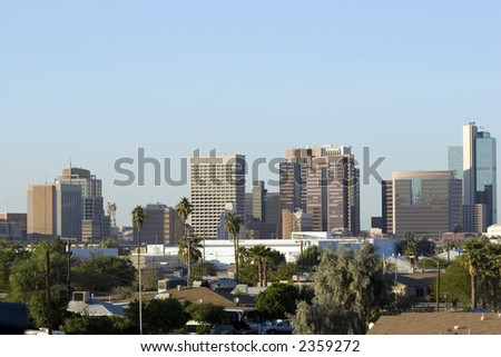 Downtown of Phoenix, AZ