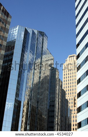 Downtown Oklahoma City - stock photo