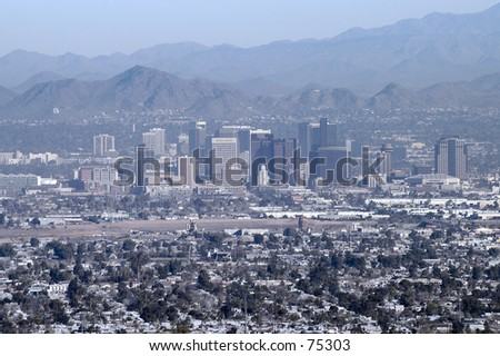 Downtown Phoenix, Arizona - stock photo