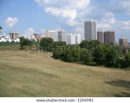 Downtown Richmond Virginia - stock photo