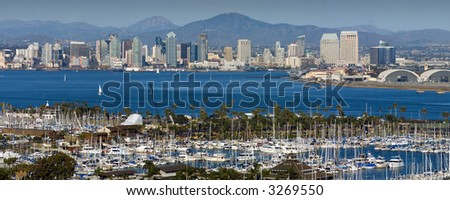Downtown San Diego - stock photo