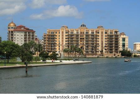 Downtown Sarasota - stock photo