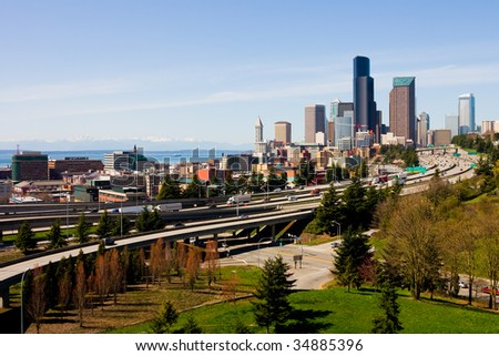 Downtown seattle stock images royalty free images for 7 salon downtown seattle