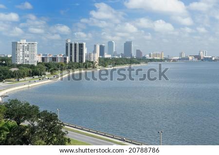 Downtown Tampa Florida - stock photo