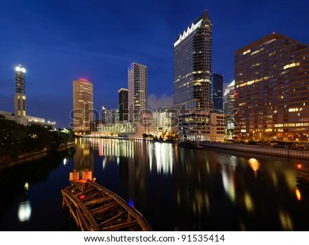 Downtown Tampa, Florida - stock photo
