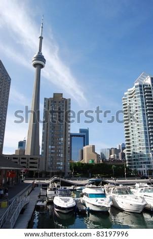 Downtown Toronto Waterfront, Canada - stock photo