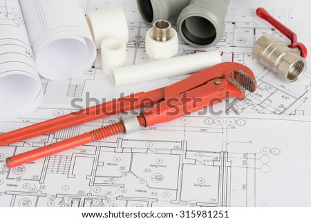 stock photo drafts with instrument and repair parts on table 315981251 drafts instrument repair parts on table stock photo (royalty free