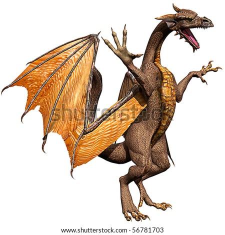 dragon challenge - stock photo