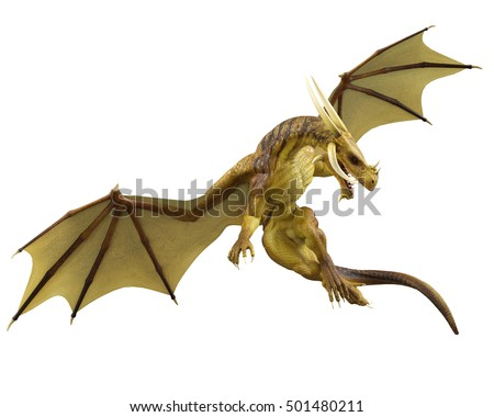 Dragon 3d illustration