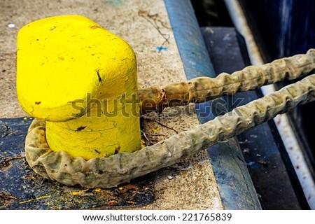 dragon figurehead of a boat - stock photo