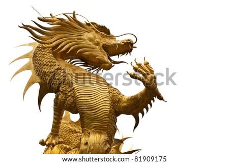 Dragon image - stock photo