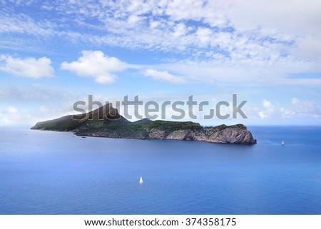 Dragonera island. Mallorca - stock photo